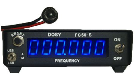 Frequency Counter - Range from 1.8 MHz to 50 MHz - Power Supply Included - Designed for Single Side-Band Users