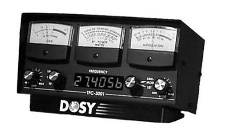 Inline Watt Meters - Built-In Frequency Counter - 3 Watt Ranges with 1000 Watts Max & 3 Meters