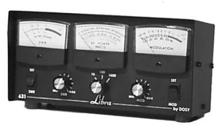 Libra Inline Watt Meters - 3 Watt Ranges with 1000 Watts Max & 3 Meters